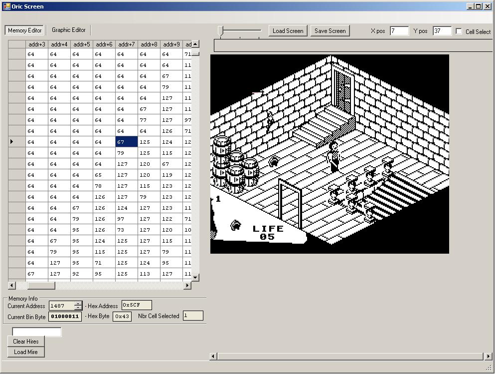 Oric Explorer v2.0.... Bonne et mauvaise nouvelles Oricscreen